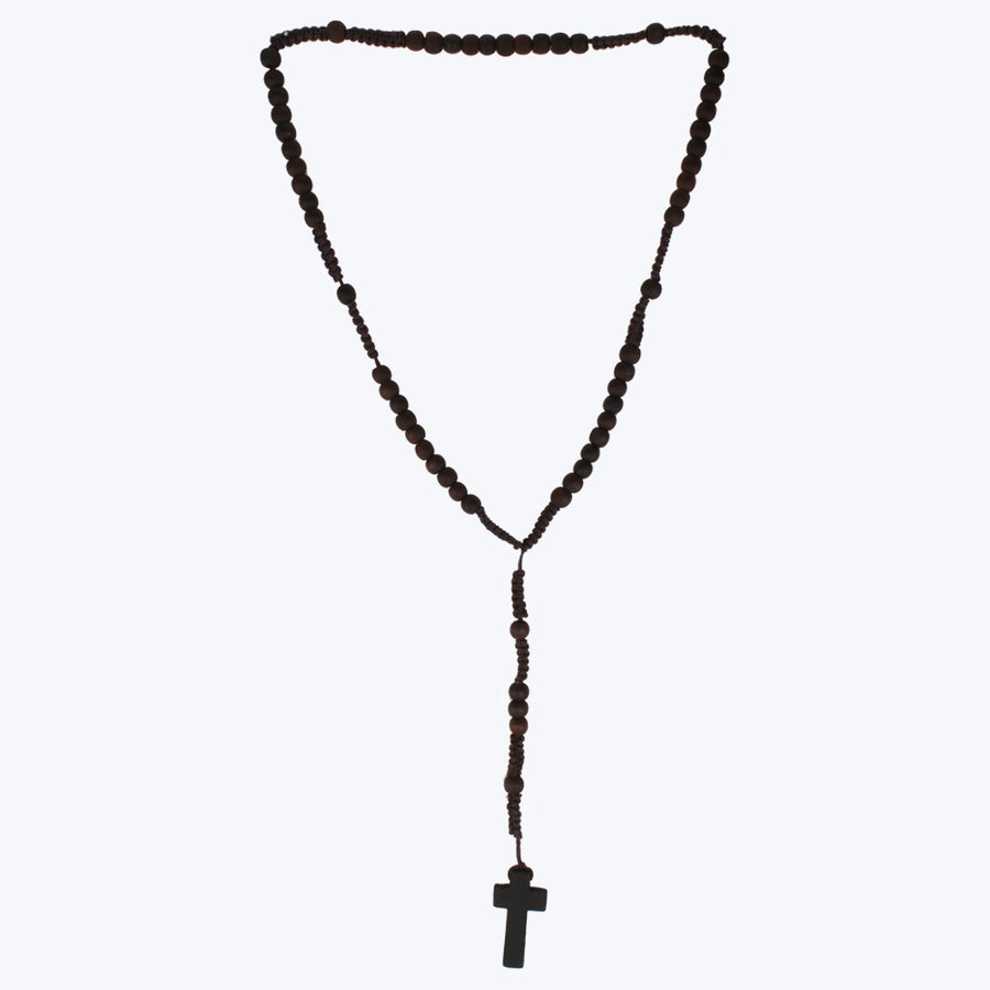 Holy Cross With Beads Chain