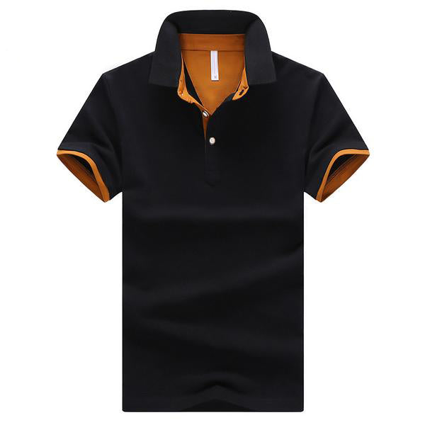Summer Short Sleeve Polo Shirt for Men - Lance Donovan
