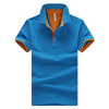 Summer  slim Short Sleeve homme  Brand Mens Polo Shirt - Lance Donovan