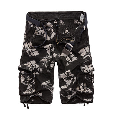 Mens Military Cargo /Cotton Loose Work Casual Short - HANQIU