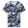 Military Camouflage summer Short Sleeves T Shirt - Lance Donovan