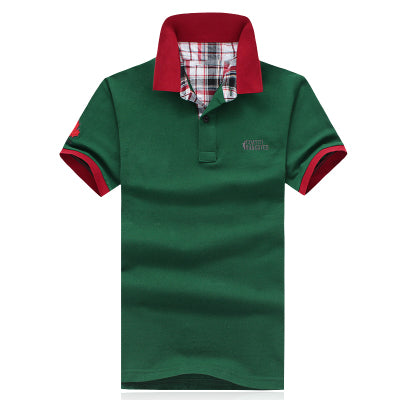Short Sleeve New Men's Polo Shirt - Lance Donovan