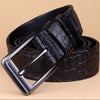 Leather Pin Buckle Mens Jean Belts - Bruce Lee