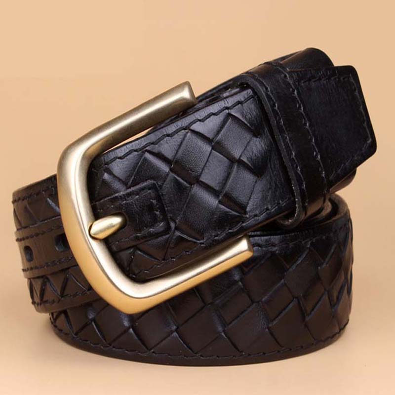 Leather strap male Formal belt - Bruce Lee