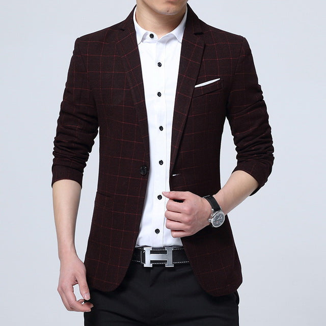 Slim Fit Leisure Casual Jacket - Lance Donovan