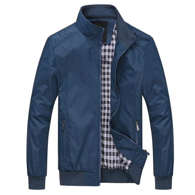 Solid color New Casual Jacket - Lance donovan