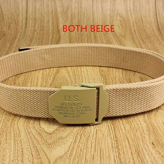 Military Thick  canvas belts - LGFD