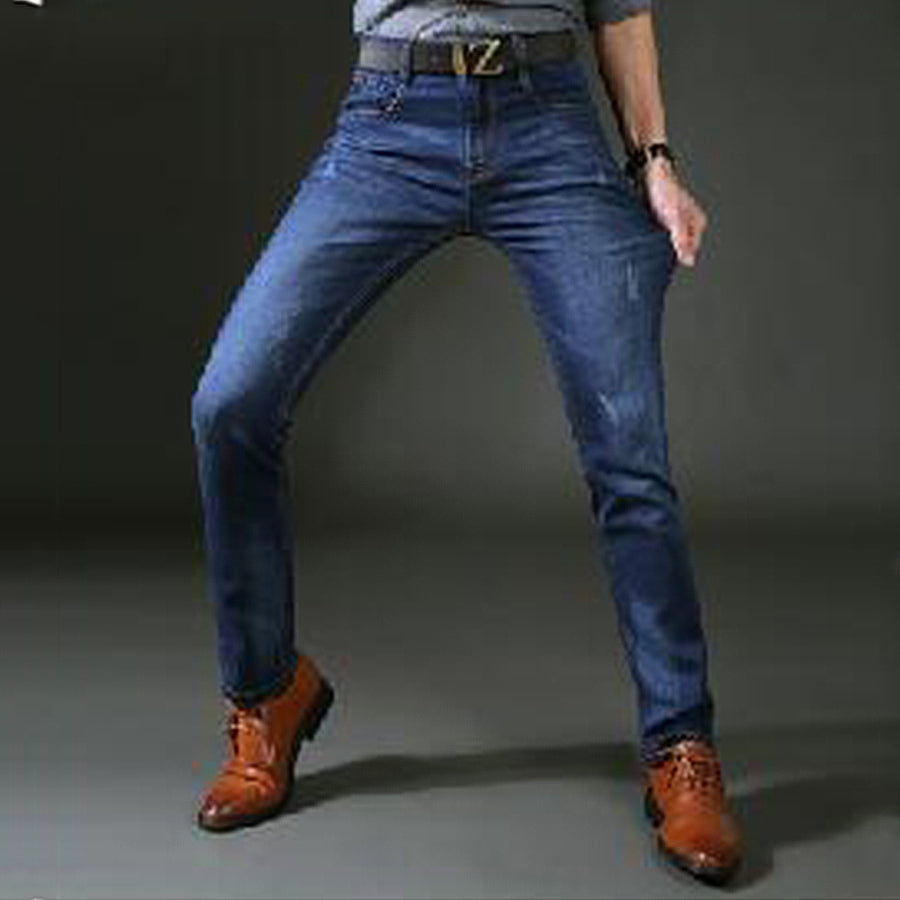 Solid Skinny  Branded Denim Jeans - Bruce Lee
