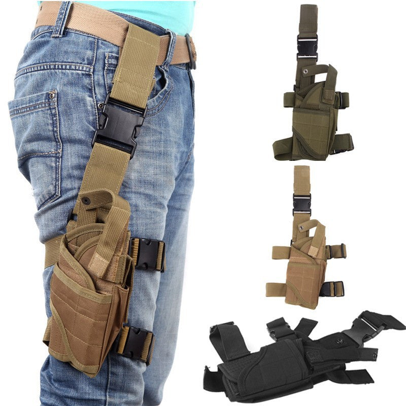 Military Tactical Left Hand Drop Pouch tactical holster