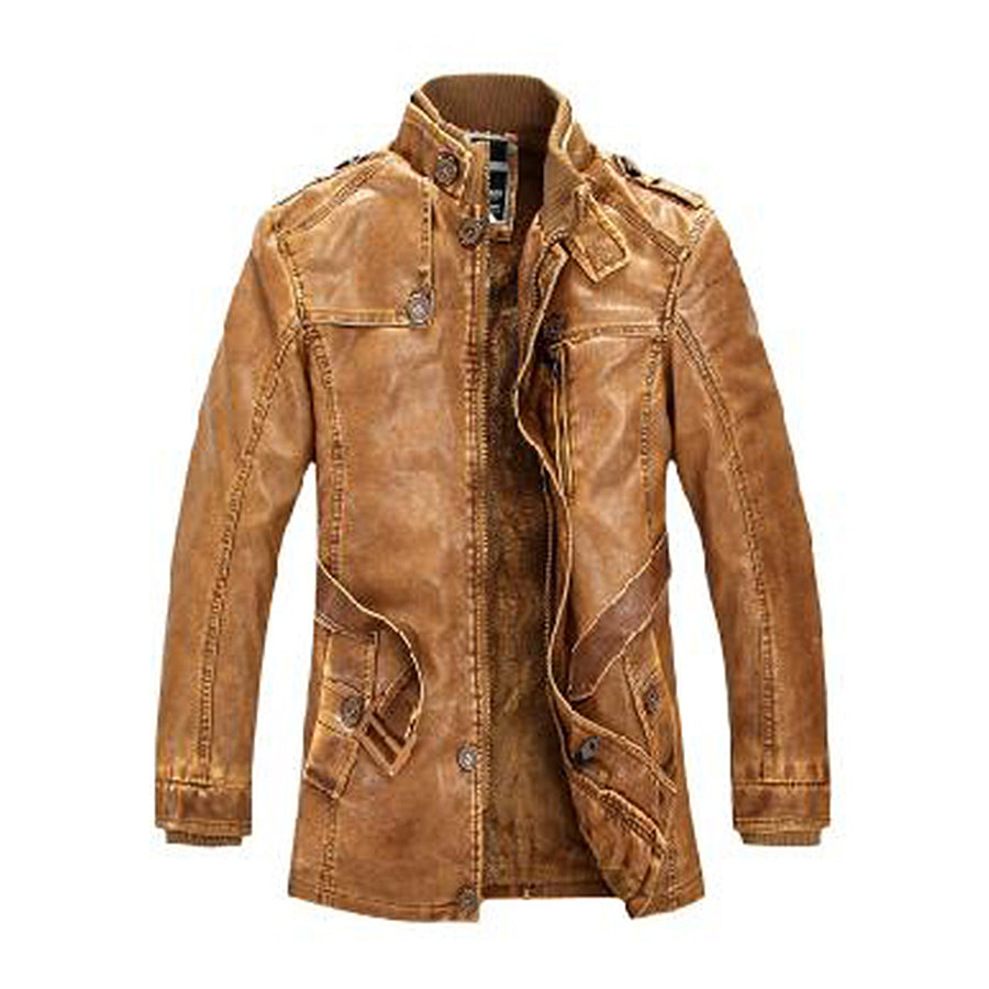 Leather Jacket For Men - Gotoloveboy