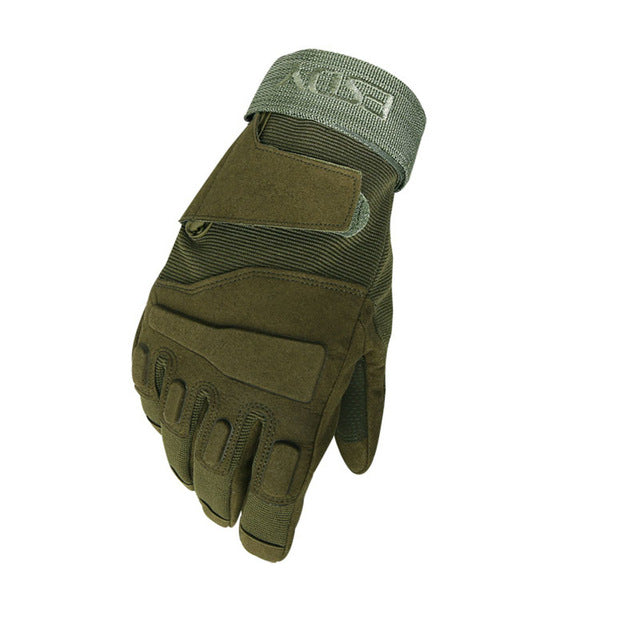 Tactical Full Finger Gloves / Anti Cutting And Non Slip Sport Gloves
