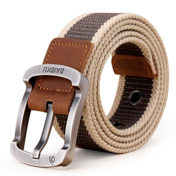 Military Men High Quality Belts - BAIEKU