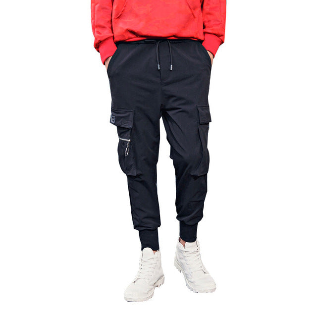 Qijue Mens Casual Pockets Jogger