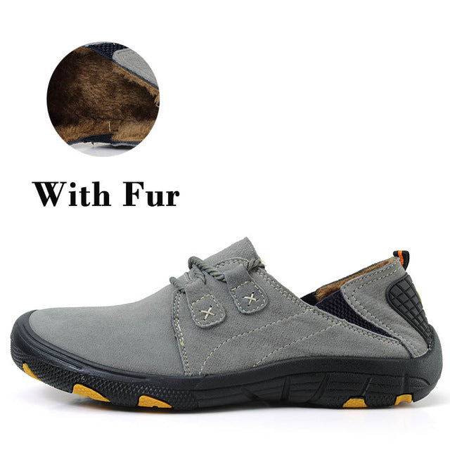 VESONAL Genuine Leather Male Shoes