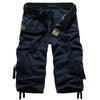 High Quality Men's Cropped Trousers /  Cotton Capri Pants