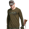 Military Men's fashion  Long Sleeve Designer t-shirt