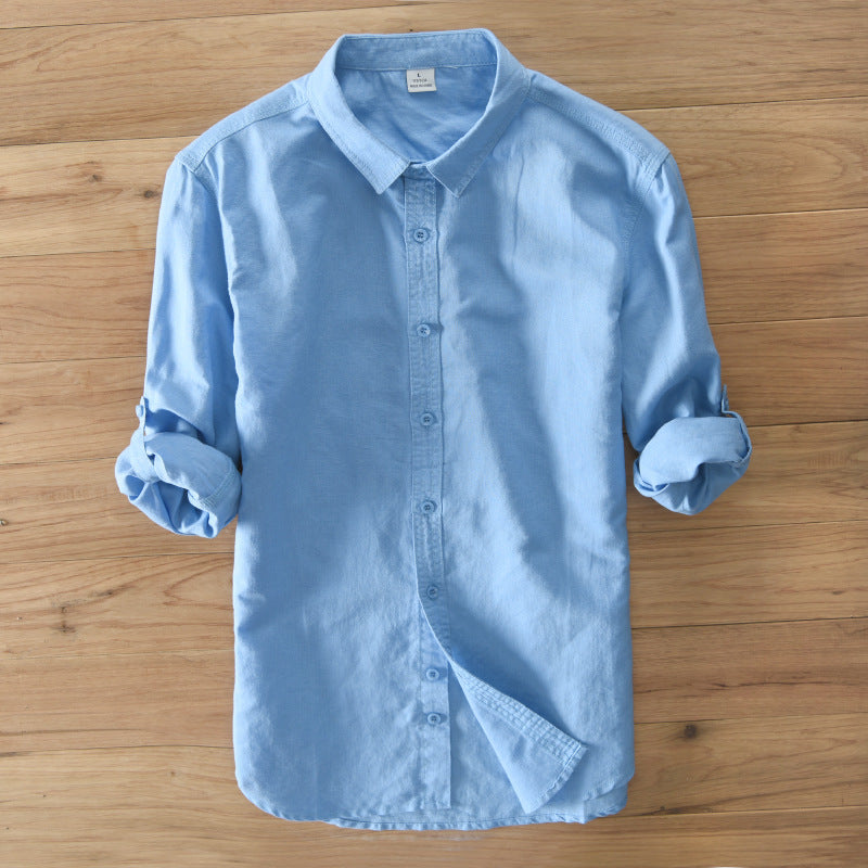 Long Sleeve Shirt /  Cool Linen Shirt - Bruce lee