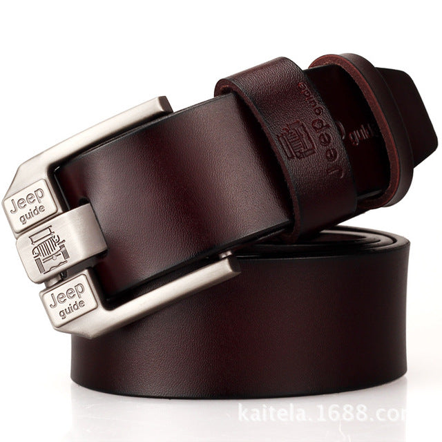 Leather Business Casual Belt