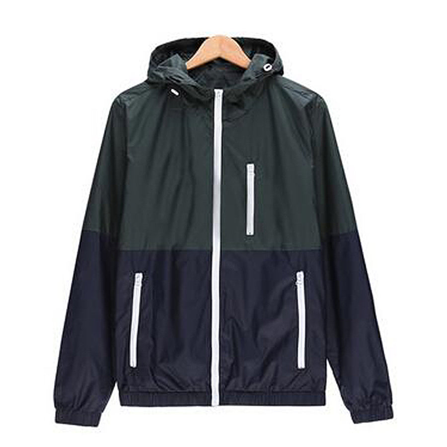 Men's jacket Active hooded - HONESTY FACTORY