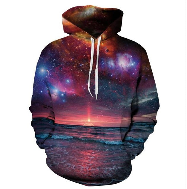 Cloudstyle Skulls Hoodies Hot Selling Hooded Sweatshirt Streetwear