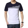 Qijue Casual Slim Fit Men T Shirt Short Sleeve
