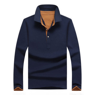 Qijue Polo Shirt /  Long Sleeve Polo Pullovers Top Tees