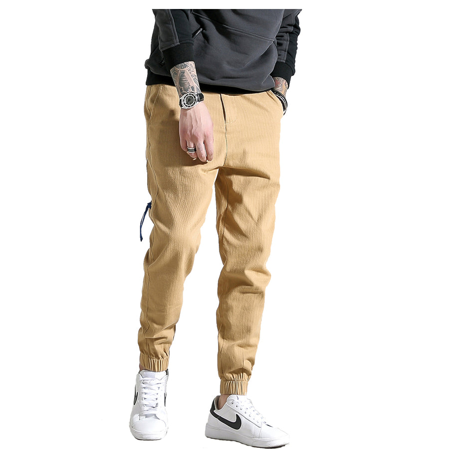 Qijue Mens Autumn Winter Casual Hip Hop Jogger Harem Pants