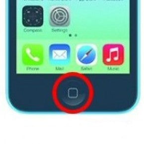 iPhone 5C Home Button Repair