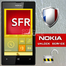 FRANCE unlock SFR NOKIA LUMIA