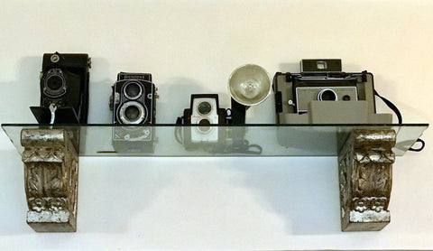 antique cameras inherited from Geetikas father