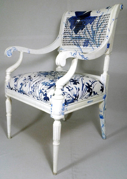Blue Danube Chair - CrazyDaisy