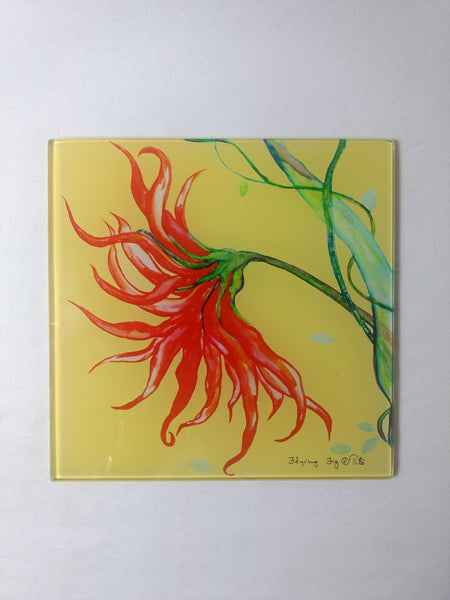 Fireflower Trivet at Crazy Daisy