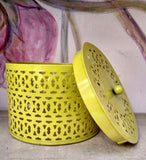 Hole-y Box in Lemon Yellow at Crazy Daisy