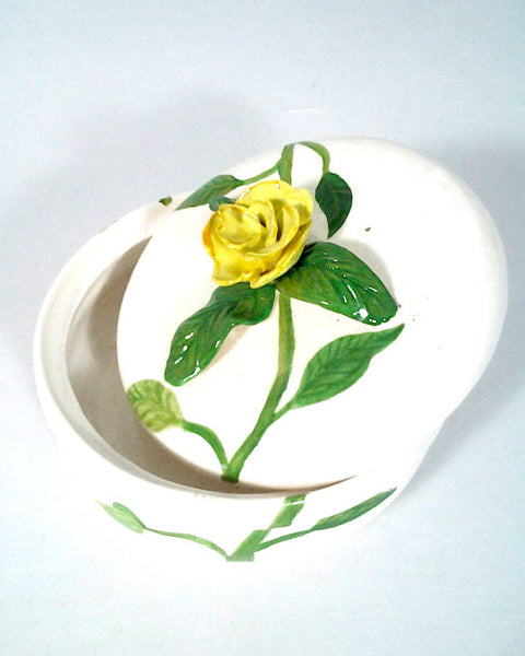 Rose Earthenware dish at Crazy Daisy