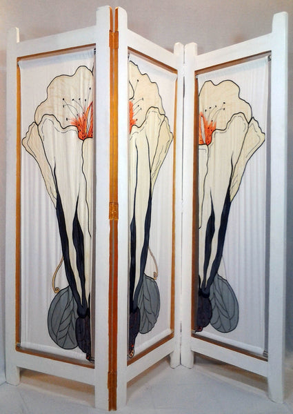 Morning Glory Folding Screen - CrazyDaisy