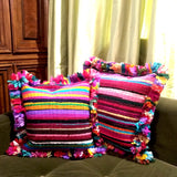 Upcycled Cushion Cover - CrazyDaisy