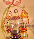 Oriental Votive Holder at Crazy Daisy