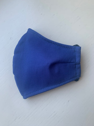 Solid Navy Reusable Face Mask
