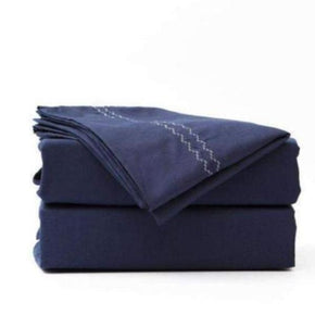 Bed Sheets Online Bed Sheet Pack 100% Cotton - Piping Edge-BEDROCKS