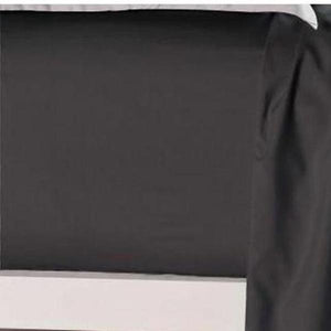 Bed Sheets King Size Black Color Fitted Sheet - AUS DESIGN-BEDROCKS