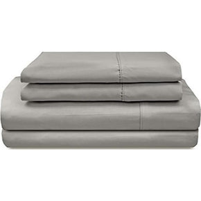 Bed Sheets Queen Size 1000TC Bedsheet Set - Grey - AUS-BEDROCKS
