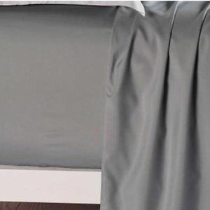 Bed Sheets Queen Size Slate Color Fitted Sheet - AUS DESIGN-BEDROCKS
