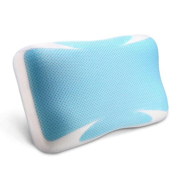 Pillows Online Australia Cooling Gel Technology Memory Foam Pillow-BEDROCKS