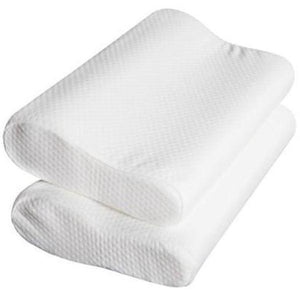 Pillows Online Australia Elastic Memory Foam Pillow Buy 1 Get 1 Free!-BEDROCKS