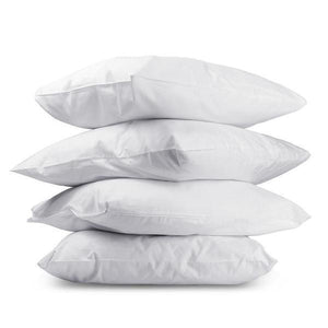 Pillows Online Australia Medium & Firm Cotton Pillows Buy 2 Get 2 Free!-BEDROCKS