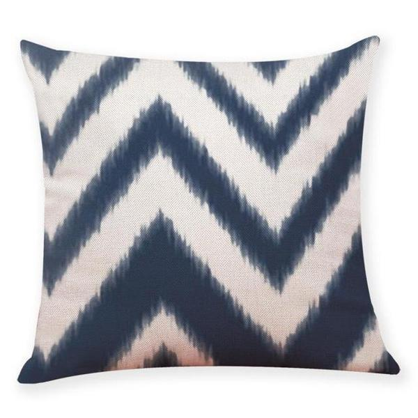 Throw Cushion Covers Navy Blue Bohemian Range Sofa Cushions - BEDROCKS