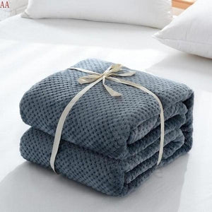 Waffle Honey Blanket-Home & Garden -> Bedding -> Sheets-BEDROCKS