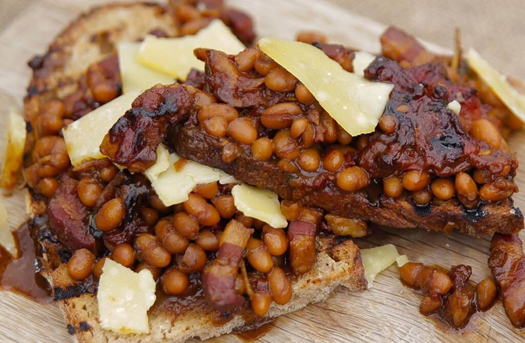 Ultimate Smoky Coffee BBQ Baked Beans