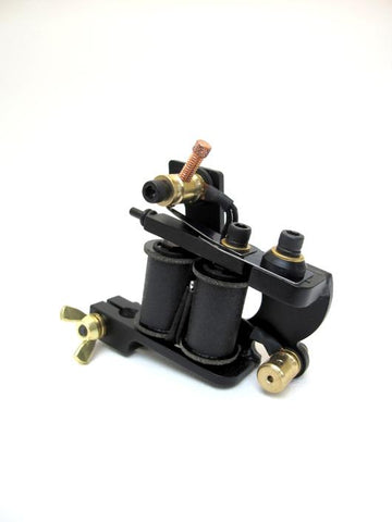 Tall coil tattoo machine