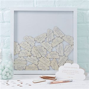 Hello world cloud drop frame guest book